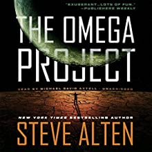 The Omega Project Audiobook by Steve Alten Narrated by Michael David Axtell