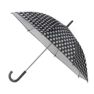 Skull And Crossbone Print Outdoor Folding Rain Umbrella