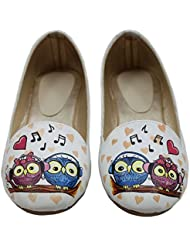 Hand Painted Made For Each Other! Ballerinas By LazyBrats