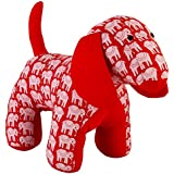 Hand Made Hand Block Printed Fabric Dog For Baby & Kids
