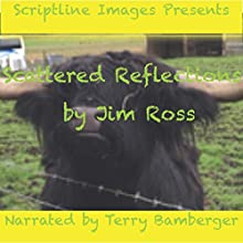 Scattered Reflections: Life Mirrored Through Rhyme, Verse and Form Audiobook by Jim Ross Narrated by Terry Bamberger