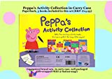 PEPPA'S ACTIVITY COLLECTION Contains 5 Peppa Activity Books in Carry Case : 1) Peppa's Family Fun 2) Peppa's Adventure Activity Book 3) Peppa's Amazing Activity Book 4) Peppa's Super Activity Book 5) Peppa's Brilliant Sticker Book (RRP: £14.97)