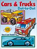 img - for Cars & Trucks Dot-To-Dot book / textbook / text book