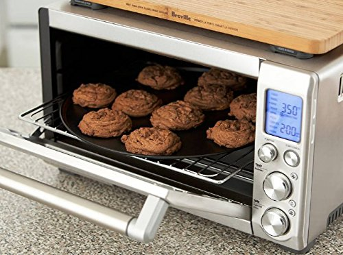 This Convection Countertop Over Is a Pro Indeed A Must In Every Kitchen Brushed Stainless Steel Toaster Oven Toast Bake Cook Broil Warm Roast Save Time Energy (Infrared Toaster compare prices)