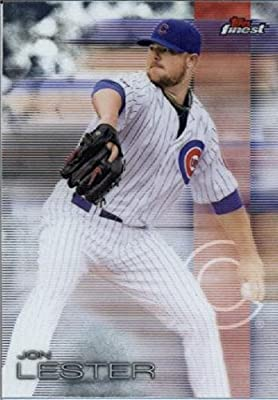 2016 Finest #99 Jon Lester Chicago Cubs Baseball Card