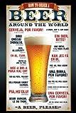 Empire 327949 Beer Bier - How to order - Poster Plakat Druck Prints - 61 x 91.5 cm