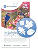 Window Alert Leaf Medley Decal Bird Feeder, 5-Pack