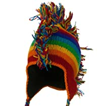 Rainbow Mohawks Hat - RGY