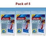 Vileda Magic Mop Flat Refill Pack of 5 - 096672 X 5