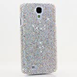 BlingAngels® Luxury Swarovski Crystal Diamond Bling Design Case Cover for Samsung Galaxy S4 S IV i9500 fits Verizon, AT&T, T-mobile, Sprint and other Carriers (100% Handcrafted by BlingAngels with Pink Carrying Pouch)
