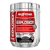 Six Star Pre Workout Explosion, Fruit Punch 0.46 lb (207 g) Pack of 2