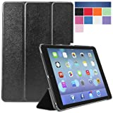 i-Blason Apple iPad Air Case (5th Generation) i-Folio Smart Cover Smart Case [Life Time Warranty] – Black Reviews