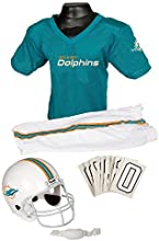 Miami Dolphins Youth Nfl Deluxe Helmet And Uniform Set Medium by Franklin