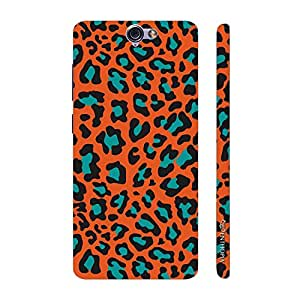 Enthopia Designer Hardshell Case Cheetah Print Back Cover for HTC One A9