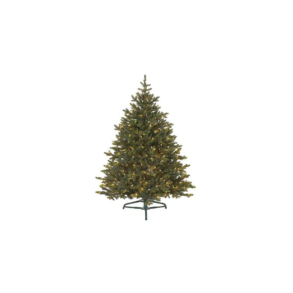 7.5 Pre Lit Petite Pine Artificial Christmas Tree   Clear Lights
