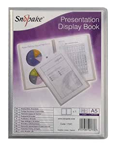 Snopake A5 Protège-documents 20 pochettes Transparent  (Import Royaume Uni)