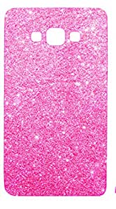 Novo Style Luxury Fashion Bling Sparkling Glitter Soft Back Cover Case For Samsung Galaxy j2- Pink