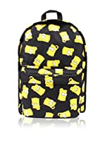 BACK TO SCHOOL Mochila Bart Face (Negro)