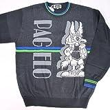 8812 日本製 サマーセーター ブラック(黒) PAGELO LL