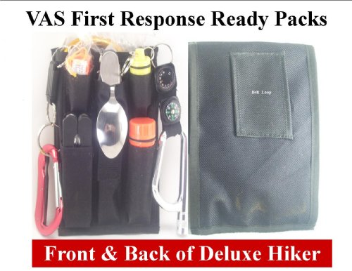 Hiker's Ready Pack - 14PC 54 Functions For Camping, Hiking & Emergencies