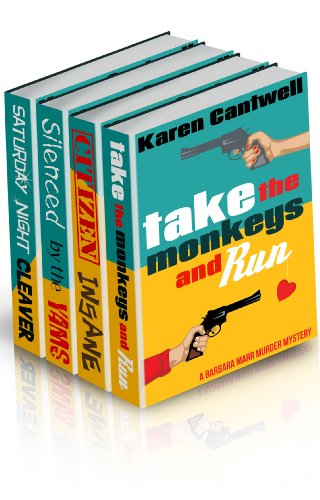 <strong>Join Soccer Mom And Movie Lover Barbara Marr in Laugh-Out-Loud, Chaotic Mysteries From Karen Cantwell - <em>Barbara Marr Mysteries Boxed Set </em>- Now Get All Four Books For Just $2.99 ... Less Than The Cost of a Single Book!</strong>