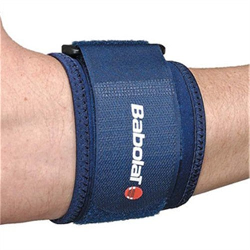 Babolat-Tennis-Elbow-Support-Codera-de-tenis-color-azul-marino