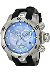 Invicta Men's 6118 Reserve Collection Chronograph Black Rubber Watch