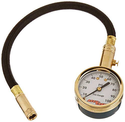 Accu-Gage H100X PSI Dial Tire Gauge