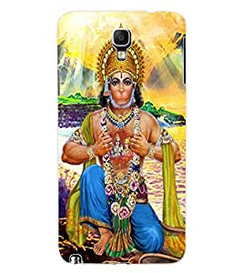ColourCraft Lord Hanuman Design Back Case Cover for SAMSUNG GALAXY NOTE 3 NEO DUOS N7502