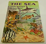 img - for The golden picture book of the sea and shore book / textbook / text book