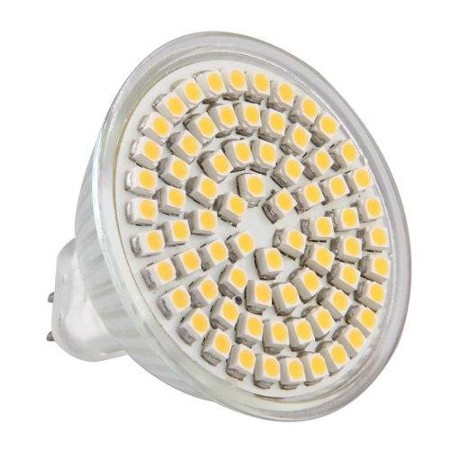 Mr16 Gu5.3 Warm White 3528 Smd 72 Led Home Spot Light Lamp Bulb Spotlight 12V