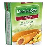 MorningStar Farms Veggie Corn Dogs 10OZ (Pack of 8) (Tamaño: 10 Ounces)