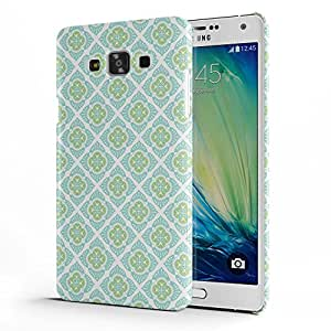 Koveru Designer Printed Protective Snap-On Durable Plastic Back Shell Case Cover for Samsung Galaxy A7 - Reneutrals
