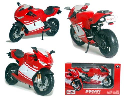 Maisto 1/12 Scale Motorcycle: DUCATI Desmosedici RR (Red/White)