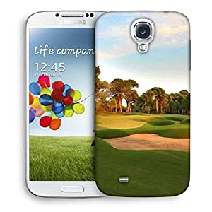 Snoogg Clean Golf Court Designer Protective Phone Back Case Cover For Samsung Galaxy S4