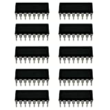 CD4017 IC CD4017BE DIP-16 Decade Counter/Divider with 10 Decoded Outputs Counter/Divider with 8 Decoded Outputs Pack of 10 Pcs