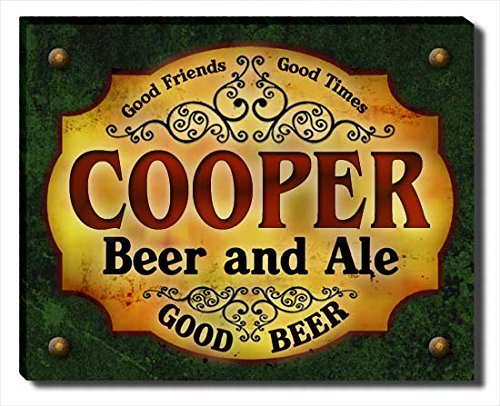 cooper-beer-ale-stretched-canvas-print