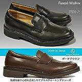 リーガル146Wリーガルウォーカーローファーモカシンビジネスシューズレザーコンフォートウォーキング紳士靴本革撥水加工REGALWalkerブラック25.0cm