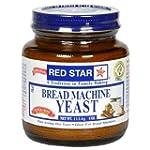 Red Star Bread Machine Yeast, 4oz Jar