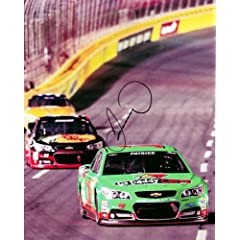 Buy AUTOGRAPHED 2013 Danica Patrick #10 GODADDY CARES (Sprint Cup) 8X10 NASCAR SIGNED Glossy Photo w  COA by Trackside Autographs