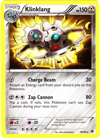 Pokemon - Klinklang (76) - Emerging Powers - Reverse Holo
