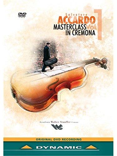 サルヴァトーレ・アッカルドのマスタークラス1  (Salvatore Accardo: Masterclass Vol.1: In Cremona) [DVD] [Import]