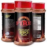 Best Rib Rub & BBQ Dry Rub - NO MSG's/SUGAR - Compare to Killer Hogs, Bad Byrons Butt Rub, Pappys Seasoning - Use as Rub for Ribs, Chicken, Brisket Rub, Steak Rub, Pork Rub 100% Money Back Great Gift!