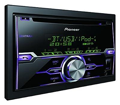 Pioneer FH-X720BT CD-Tuner Autoradio (Bluetooth, USB, Aux-Eingang, unterstützt MIXTRAX EZ, Apple iPod/iPhone-Direktsteuerung) schwarz von Pioneer auf Reifen Onlineshop