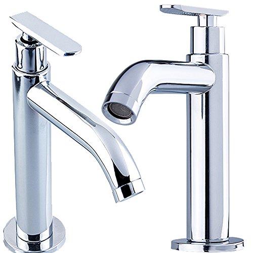 DVGW* W69 Kaltwasser Armatur   TOP Qualität   Wasserfall Einhand Hebel Spültisch KÜCHEN + BAD Waschtisch