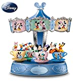 Disney Mickey Mouse And Friends Carousel Music Box: Love Makes The World Go 'Round by The Bradford Exchange ~ Ardleigh Elliott