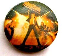 Judas Priest~ Judas Priest Button~ Rare Vintage Button!!~ Approx 1.25""