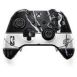 Skinit Cleveland Cavaliers Xbox One Elite Controller Skin - Cleveland Cavaliers Marble | NBA Skin (Color: Black, Tamaño: Small)