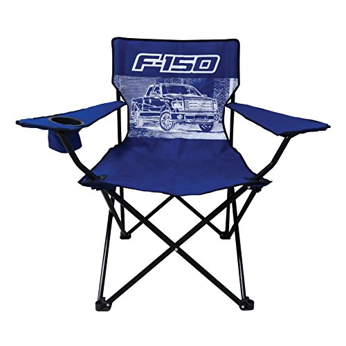 Man Cave Chairs With Cup Holder : Ford f truck big man camp chair with cup holder