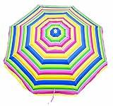 Rio Brands Sandblaster Instant Install Umbrella, 6.5-Feet